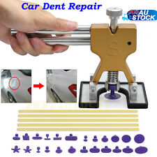 PDR Lifter Glue Puller 24 Tabs Hail Removal Paintless Car Dent Repair Tool Kit