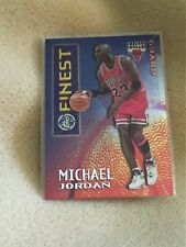 1996-97 Topps Finest (Borderless Mystery) - Michael Jordan #M1 (SP)