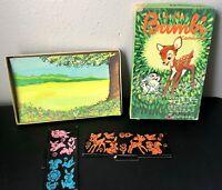 Vintage Walt Disney Colorforms Bambi Cartoon Kit