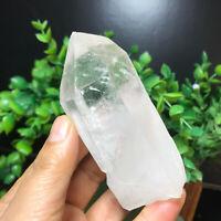 197g  Natural Clear White Quartz Crystal Cluster Rough Healing Specimen 54