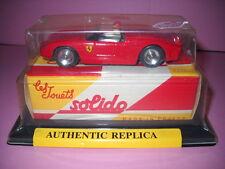 SOLIDO modellino 1/43 FERRARI 2,5 L 1962 ref: 1108 les jouets