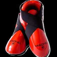Macho Karate Macho Dyna Red Sparring Gear Foot Pads