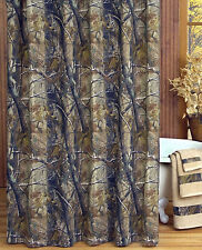 REALTREE AP CAMO CAMOUFLAGE SHOWER CURTAIN