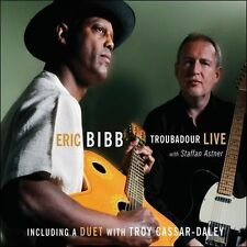 Troubadour Live by Eric Bibb  .DIGIPAK..NEW & SEALED  cd631