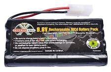 1x Ni-cd 9.6v 2400mAh Rechargeable Battery Pack Tamiya Connector