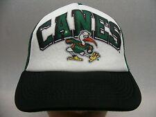 MIAMI HURRICANES - NCAA/FBS/ACC - TRUCKER STYLE SNAPBACK BALL CAP HAT!