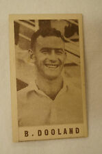 1940's Vintage G.J.Coles Cricket Card - B. Dooland - South Australia.