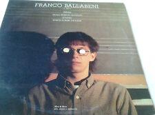 FRANCO BALLABENI       MINI LP  1987      CITY RECORDS  no prog