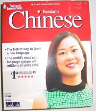 NEW Instant Immersion Mandarin Chinese