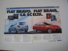 advertising Pubblicità 1995 FIAT BRAVO GT e BRAVA 1.6