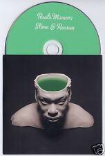ROOTS MANUVA Slime & Reason 2008 UK 14-track promo CD