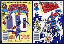 Legion SuperHeroes, Year's Best Comics PAIR UNREAD DIGEST BOOKS 1980 DC Superman