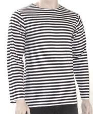 Camisetas de hombre de manga larga sin marca color principal negro