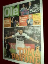 LANUS (6) - OLIMPIA (0) LIBERTADORES 2012 - Ole Newspaper Argentina