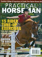 2013 Practical Horseman Magazine: Rider Tune-Up/Olivia Woodson/Equine Careers