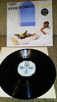 "Stevie Wonder Go Home Maxi LP Vinyl 12 "" VG/G + 1985 Spanisch Edition Motown"