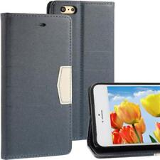 """Bookstyle Wallet Case for Apple iPhone 6 Plus (5,5"""") Anthracite Gray Cell Phone Bag"""