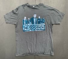 3 Doors Down 2009 tour shirt Extra Large tultex XL
