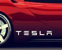 2x Seitenaufkleber Aufkleber Passt Tesla Model X Sticker Emblem Logo ER99