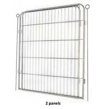 Barkshire Steel Expansion Pack for Heavy Duty Dog Pen Enclosure 2 Panels Pieces