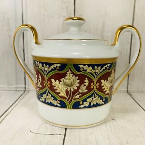 Christian Dior Tabriz Sugar Bowl and Lid 3 1/4 Inches 1991 to 1999