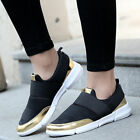 Casual Women's Sports Breathable Running Slip On Sneakers Trainer Shoes Fashion