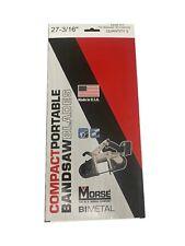 Mk Morse Zwep271216mc 27 316in X 1216tpi Bi Metal Portable Band Saw Blade 3pk