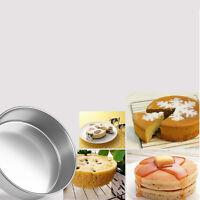 Round Aluminum Baking Tin Pan Mold Mould for Sandwich Cake Kitchen DIY 5 Size ßß