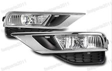 UK Version Replacement Front Fog Lights w/Covers Kits For Honda CRV 2015-2016