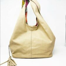 Women's Reversible Hobo Bag Faux Leather & Floral Print