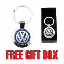 VOLKSWAGEN LOGO ( CMK055 ) ROUND METAL KETRING - free Gift Box