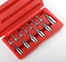 """13pc METIRC Allen Hex Socket Bit Set HD Wrench Ratchet 1/4"""" 3/8"""" 1/2"""" MM NEW"""