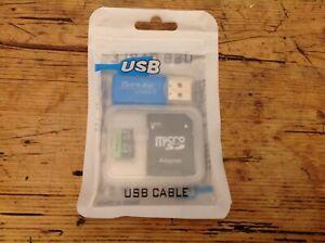 PNY 2Tb Professional EliteX Micro SD Card+ SD Adapter & USB Adapter 4K