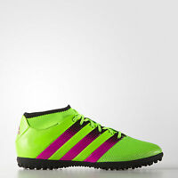 adidas Ace 16.3 Primemesh TF Men's Football Trainers Astro Turf Sock Boots Green