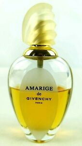 Vintage Amarige by Givenchy 50ml Womens Eau de Toilette Spray Bottle 60% Full
