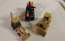 3 Heavy Equipment toy vehicles
