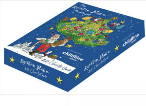 Quentin Blake Charity Christmas Boxed Cards – 20 Traditional Festive Xmas Cards