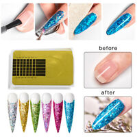 MTSSII Poly UV Gel Quick Building Nail Tips Glitter Extension Gel Brush Tool Set