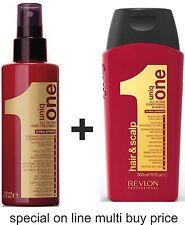 UNIQ One Treatment & Uniq One Cleansing Balm 300ml & MULTI BUY by Revlon Uniq 1