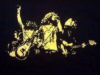 Led Zeppelin group vintage style t shirt jimmy page zofo john bonham sm-5xlg blk