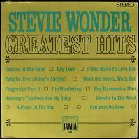 "STEVIE WONDER ""STEVIE WONDER'S GREATEST HITS"" 1968 VINYL LP COMPILATION *SEALED*"