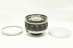 """""""Rare"""" Canon 50mm F0.95 MF Lens for {Canon7} 7S with Filter #210331ac"""