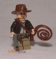Lego Indiana Jones Minifigure (Brown Leather Jacket) from set 7196 NEW iaj044