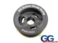Ford Sierra Cosworth 2wd Early Crank Pulley GGR Design Black Anodised Twin Belt