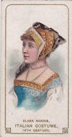 "Clara Morris, Italian Costume, ""Actors & Actresses"" Series, Duke Tobacco Card"