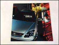 2004 Honda Civic Si 20-page Original Car Dealer Sales Brochure Catalog