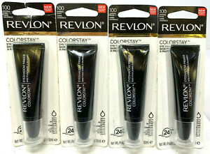 (4) Revlon Colorstay Eye Shadow Primer Sealed 100 - Universal Shade