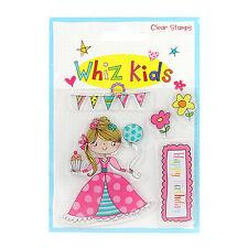 WIZZ Kid Clear Stamp Principessa ideale per schede e Artigianato