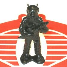 "BLACK SPACE APE ALIEN Army Man 2"" Plastic Figure Made in Hong Kong Heroquest D&D"