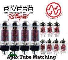 Tube Set Rivera TBR-1 guitar amplifier Ted Nugent  vacuum valves JJ/Testla